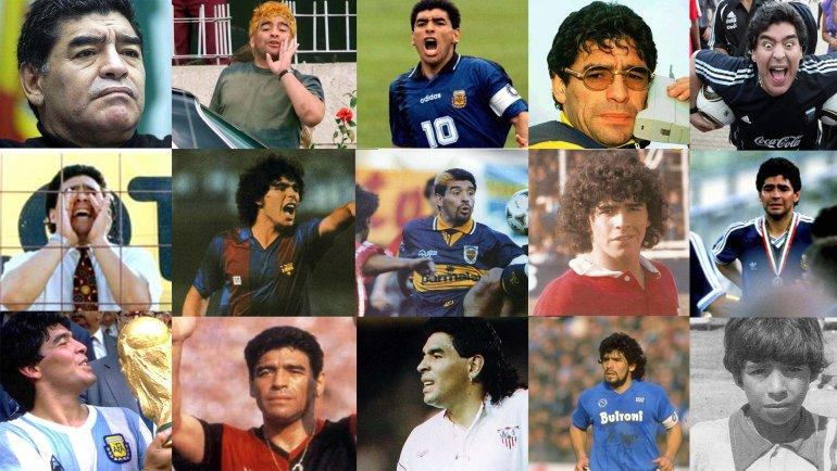Hoy cumple 55 años Diego Armando Maradona: gloria, excesos y polémicas - El  Liberal Movil