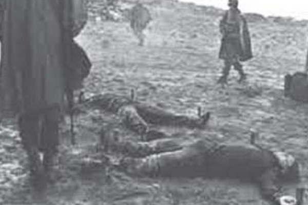 Resultado de imagen para soldado estaqueados malvinas