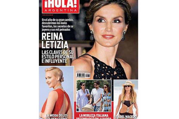 Los imponentes looks de la reina letizia en hola for Ultimos chimentos dela farandula argentina 2016